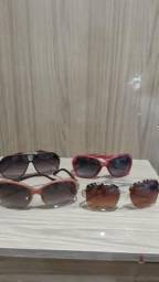 Óculos de sol feminino tudo por 50 reais