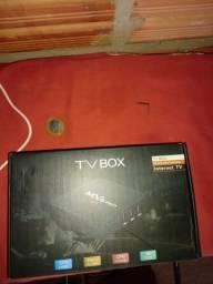 Troco ou vendo tv box e caixa amplificada