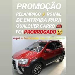 Showroom AUTOMÓVEIS! R$1MIL DE ENTRADA(ETIOS CROSS 2014)