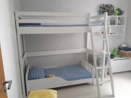 faecb636fe Cama Suspensa mais mini cama Lua Tok Stok