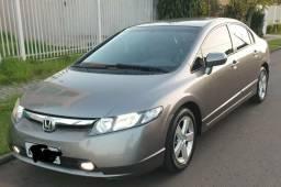 Honda Civic LXS 2007 TOP de linha Automatico 2º Dono - 2007