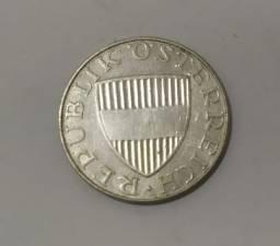 Moeda de Prata - Áustria 1958