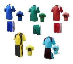 Jogo De Uniforme Fardamento / 20 Camisas + 20 Calções Futebol * Pronta Entrega