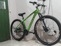 Bicicleta South Legend aro 29 alumínio verde nova