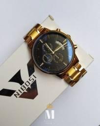 Relógio Nibosi Original Várias Cores