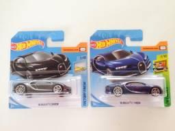 Hot wheels Bugatti chiron 2 cores