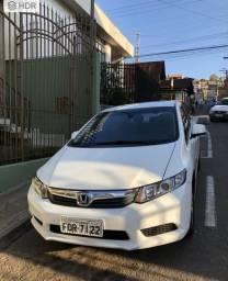 Oportunidade Honda Civic 2016 Lxs Única Dona - 2016