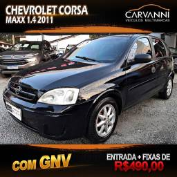 Chevrolet Corsa Maxx 1.4 2011 com GNV