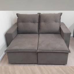Sofá Retrátil e Reclinável 1,80m Pronta Entrega