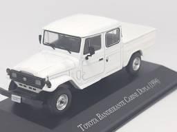 Miniatura Toyota bandeirante cabine dupla 1994