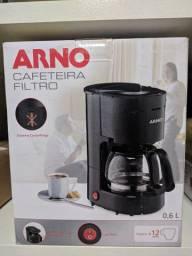 Cafeteira Elétrica Arno FG3206B2 12 Xícaras Preta<br>
