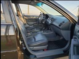 Honda civic 2005 automatico completo conservado