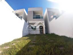 MG Casa Duplex 3 Quartos c/ 2 Suítes em Manguinhos - Quintal Privativo - Serra - ES