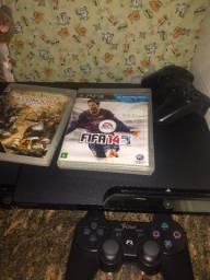 Playstation 3 destravado com um controle