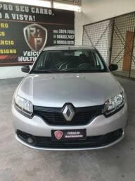 Renault Logan Authentique  1.0 Flex Completo, Pneus Bons, Revisado, Garantia