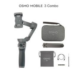 Estabilizador<br>DJI Osmo Mobile 3 Combo Original- Produto Novo Lacrado a pronta entrega<br>