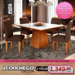 Mesa com 4 Cadeiras Promoção!!