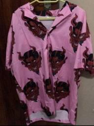 Camisa NV studio devil hawaiian G