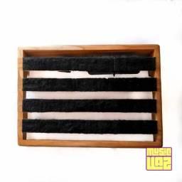 Pedalboard Baleia Custom Boards Excelente Estado 44cm X 31.5cm X 8.5cm Com Filtro de Linha