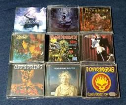 CDs heavy metal, hard rock e afins