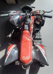 Mini quadriciclo fun motors ligeirinho 49cc 2 tempos