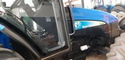 Trator NH TL 75 2009 cabinado revisado
