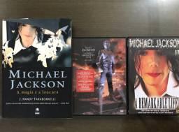 Kit Michael Jackson 2 DVDs+livro PROMOÇÃO FDS