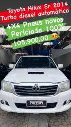 Toyota hilux 2014 turbo diesel 3.0 automático oportunidade
