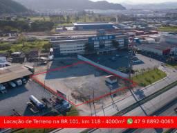Aluguel - Terreno 4000m² em Itajaí - BR 101, km 118