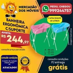 Título do anúncio: Banheira Ergonômica Com Suporte Em Até 10x Nos Cartões - Entrega Grátis