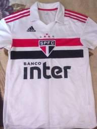 Camisa do São Paulo FC Adidas 2018 original tamanho P