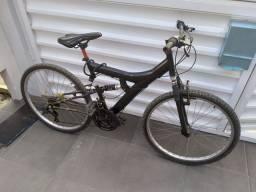 Bicicleta com amortecedor aro 26