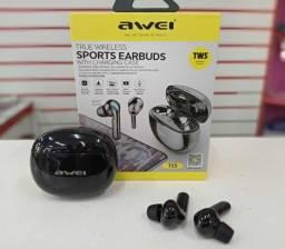 Produto novo. Fone Awei Tws Wireless Bluetooth r$230,00 ENTREGO