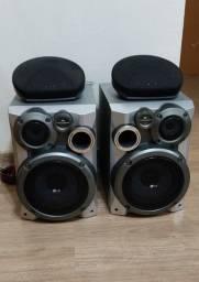 Conjunto de caixas de som LG (auxiliares Aiwa)