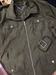 Jaqueta Tommy Hilfiger verde tamanho XXG