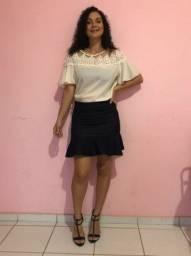 Saia jeans - Tam 38