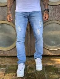 calças jeans para homem revenda ou uso pessoal lycra elastano