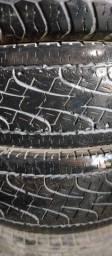 4 pneus, sendo dois 265/7016e,245/7016