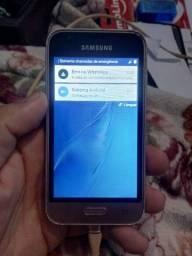 Samsung j1 mini celular bom para quebra galho com wpp e tudo