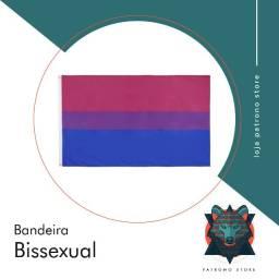 Bandeira bi Bissexual lgbt lgbtqi+ - 90 cm x 150 cm