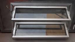 Vitro de vidro e Inox