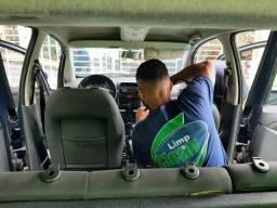 Limpeza interna /carro