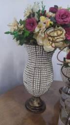 Vaso de pérolas