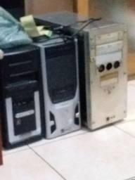 3 cpu pra peças ouconcerto500 GB com placa de vídeo de 1 GB