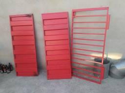 Placas de aço para porta comercial