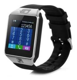 Smartwatch Relógio Dz9 Inteligente Bluetooth Android Iphone Atende e Recebe Ligações What