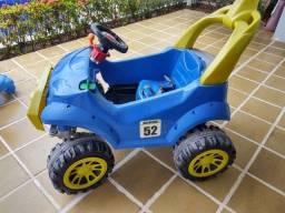 Mini Carro a Pedal Infantil - Smart Passeio & Pedal