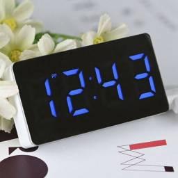 Relógio Despertador Digital Led Temperatura