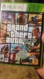 GTA 5 Xbox 360 Original com Mapa