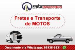 Trabalhamos com Fretes, Mudanças, Transporte de Motos e Carretos